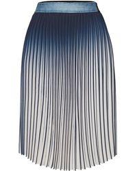 Karl Lagerfeld - Pleated Skirt - Lyst