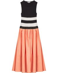 Paule Ka - Mixed-media Dress - Lyst