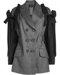 Simone Rocha - Virgin Wool Jacket With Bow Sleeves - Lyst