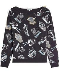 KENZO - Printed Sweatshirt With Cotton - Lyst