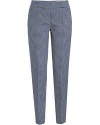 HUGO - Hevas Pique Suit Pants - Lyst