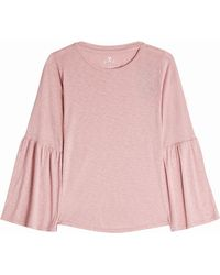 Velvet - Jersey Top With Cotton - Lyst