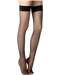 Fogal - Stay-up Fishnet Stockings - Lyst