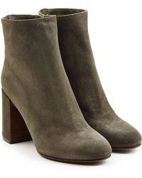 L'Autre Chose - Suede Ankle Boots - Lyst