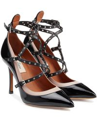 Valentino | Love Latch Leather Pumps | Lyst