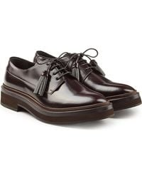 Brunello Cucinelli - Leather Lace-ups - Lyst