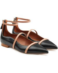 Malone Souliers - Leather Ballerinas - Lyst