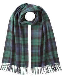 DSquared² | Wool-angora Blackwatch Plaid Scarf | Lyst