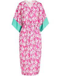 Borgo De Nor - Raquel Kimono Wrap Dress - Lyst