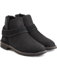 UGG - Fold Cuff Ankle Boots - Lyst