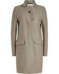 Closed - Virgin Wool Coat - Lyst