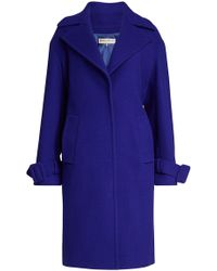 Emilio Pucci - Virgin Wool Coat With Cashmere - Lyst