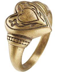 Etro - Heart Ring - Lyst