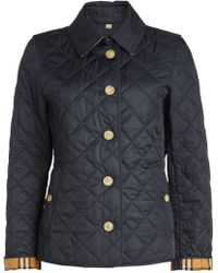 Burberry - Frankly Quilted Jacket - Lyst