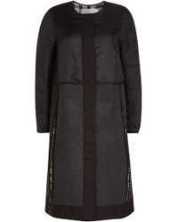 See By Chloé - Coat With Wool - Lyst