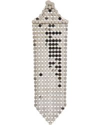 Paco Rabanne - Aluminium Mesh Earrings - Lyst