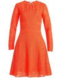 M Missoni | Jacquard Knit Cotton Dress | Lyst