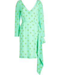 Natasha Zinko - Printed Silk Dress - Lyst