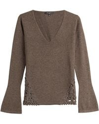 Etro - Wool-cashmere Blend Pullover - Lyst