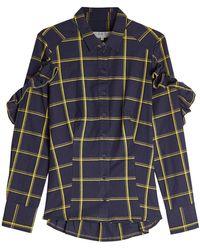 Sea - Printed Cotton Shirt - Lyst