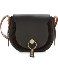 See By Chloé - Shoulder Bag With Leather And Suede - Lyst