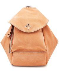 MANU Atelier | Micro Fernweh Suede Backpack | Lyst