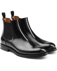 Church's - Leather Chelsea Boots - Lyst