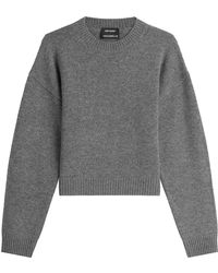 Anthony Vaccarello | Wool Pullover | Lyst