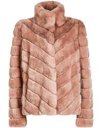 Yves Salomon - Rabbit Fur Jacket - Lyst