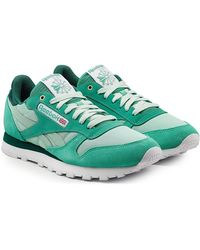 Reebok - Classic Sneakers With Leather, Mesh And Suede - Lyst