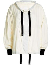 DKNY - Jacket With Drawstrings - Lyst