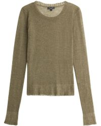 Etro - Pullover With Mohair, Wool And Alpaca - Lyst