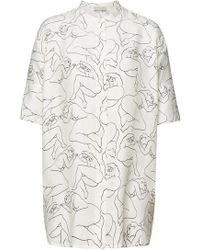 By Malene Birger - Printed Shirt - Lyst