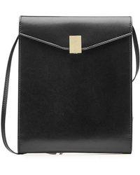Victoria Beckham - Postino Leather Shoulder Bag - Lyst