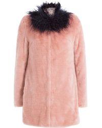 8f0424bb041d Shrimps Fur Coats - Shrimps Faux Fur Coats Online Sale - Lyst