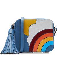 Anya Hindmarch - Rainbow Leather Crossbody Shoulder Bag - Lyst