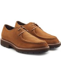 Tod's - Suede Lace-up Shoes - Lyst