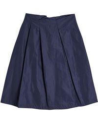 Jil Sander Navy - Pleated Mini Skirt - Lyst