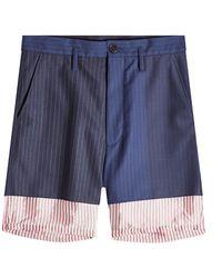 Marni - Wool Shorts - Lyst