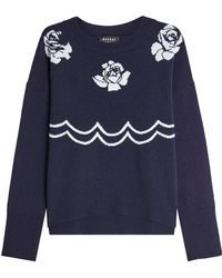 Markus Lupfer - Printed Wool Pullover - Lyst