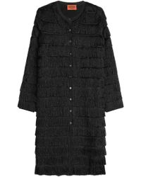 Missoni - Metallic Fringed Coat - Lyst