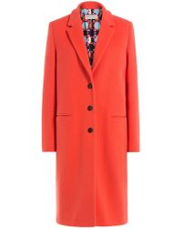 Emilio Pucci - Coat With Printed Lining - Lyst