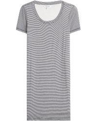 Splendid - Winward Micro Stripe T-shirt Dress - Lyst