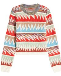 Missoni - Pullover With Wool, Mohair And Alpaca - Lyst