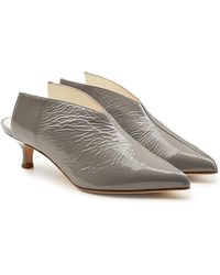 Tibi - Jase Patent Leather Court Shoes - Lyst