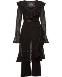 Marc Jacobs - Ruffle Dress With Jumpsuit - Lyst