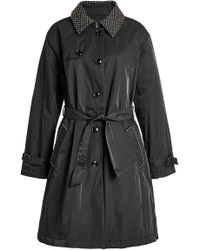 Boutique Moschino - Belted Trench Coat - Lyst