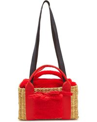 Muuñ - Manon Skipi Straw Handbag - Lyst