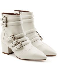 Tabitha Simmons - Leather Ankle Boots - Lyst