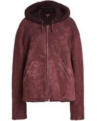 Yeezy - Lambskin Leather Jacket - Lyst